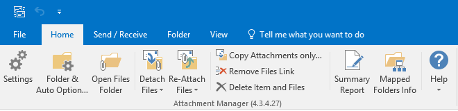 How to detach attachments from emails and move to file system