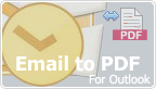 Save as PDF Outlook plug-in