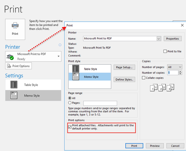 Open MSG file in Outlook and use Print to PDF to convert it to a PDF file