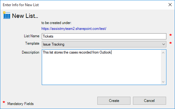 Team issue tracker for outlook sharepoint installation for Sharepoint issue tracking template